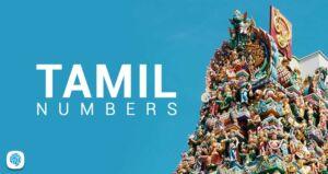 Tamil Numbers