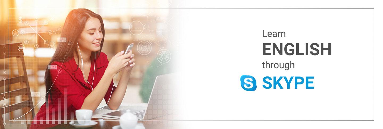 Learn english through skype